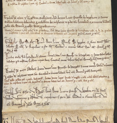 The Obituary Roll Of Lucy, First Prioress Of Hedingham tituli 101-107